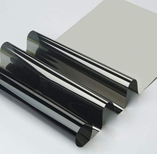40/50/60 bij 100 Cm 15% VLT Decoratie Solar Tint Film One Way Vision Spiegel Window Film Reflecterende film voor thuis Zonwering, 60 bij 100 cm