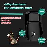 keyu 1 / 2pc mejoradas ahuyentadores versión Rata protección de Plantas electrónico ultrasónico Mosquito Insectos Gente de la Rata y Mascotas,2ST