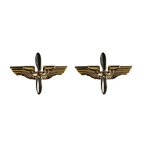 Fosco Réplica WW2 EEUU Oficial De La Fuerza Aérea Del Ejército Collar Insignia