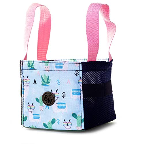 BAMBINIWELT Musikbox-Tasche, Transporttasche für Hörwürfel z.B. Toniebox und Tigerbox Touch, Halterung für Tonies,KLEIN (Modell 25)