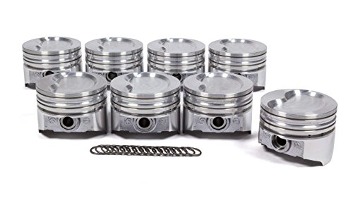 KB Performance Pistons KB303.030 SBF 351W D-Cup 2V Piston Set (4.030 Bore -19.5cc), 1 Pack