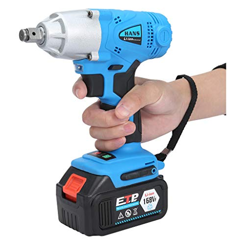 Best Buy! Micozy 1/2'' Electric Brushless Cordless Impact Wrench Drill High Torque Tool, 168V 16800m...