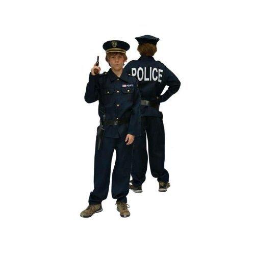 Deguisement Policier Taille - 128 Cm