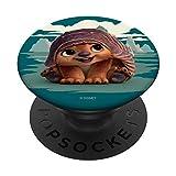 Disney Raya and the Last Dragon Baby Tuk Tuk PopSockets PopGrip: Ausziehbarer Sockel und Griff für Handys/Tablets mit Tauschbarem Top