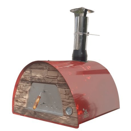 Authentic Pizza Ovens ,Red Wood Fire Oven- Maximus