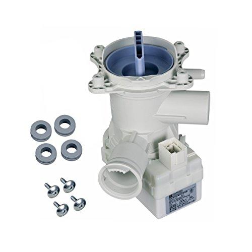 Bosch Siemens 00145093 145093 ORIGINAL Ablaufpumpe Laugenpumpe Pumpe Entleerungspumpe Pumpenstutzen Flusensieb Waschmaschine auch Balay Constructa Neff