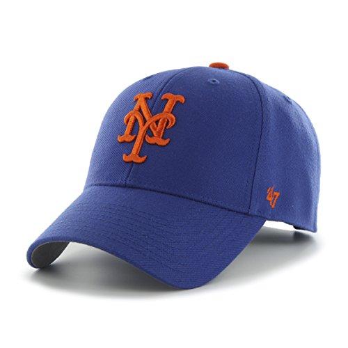 '47 Brand MLB New York Mets MVP Gorra Ajustable, Un tamaño