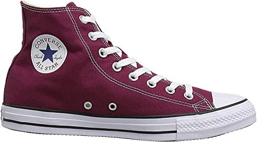 Converse Chuck Taylor All Star, Unisex-Erwachsene Hohe Sneakers, Rot (Maroon), EU 42 EU