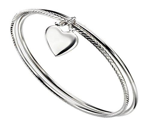 Elements Silver Damen Armreifen Silber - AZ-B5066