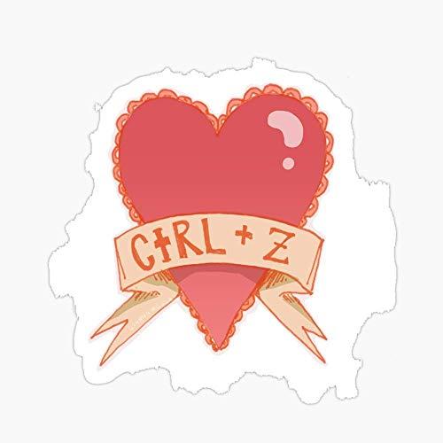 Vinyl Sticker for Cars, Trucks, Water Bottle, Fridge, Laptops Photoshop Valentines Stickers (3 Pcs/Pack)