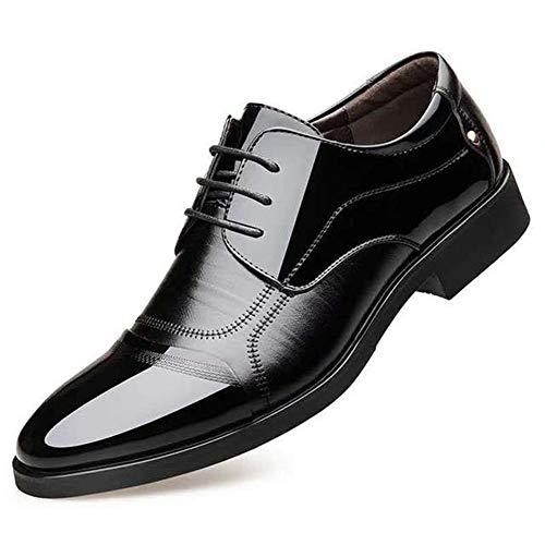 XIGUA Männer Spitzen Gelegenheitsarbeit Hochzeitsschuhe niedrige weiche Spitze Schuhe
