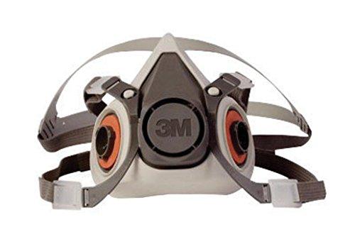 3M Half Facepiece Reusable Respirator 6100/07024(AAD) Small