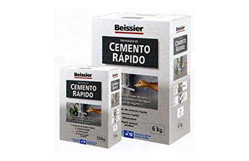 Beissier M107374 - Cemento gris rapido 6 kg