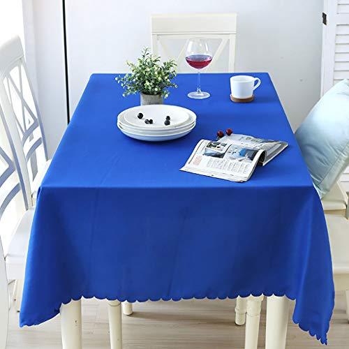 Manteles Mantel Decorativo Repelente De Suciedad Mantel Varios Tamaños Funda De Mesa Lavable De Poliéster for Cocina Comedor, 6 Colores (Color : F, Size : 1.8 * 2.6m)