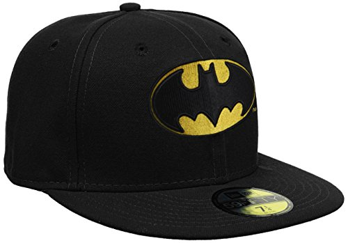 New Era Cap Character Basic Batman, Black, 7 3/8