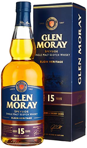 Glen Moray single malt 15yrs 1 x 0.7 l