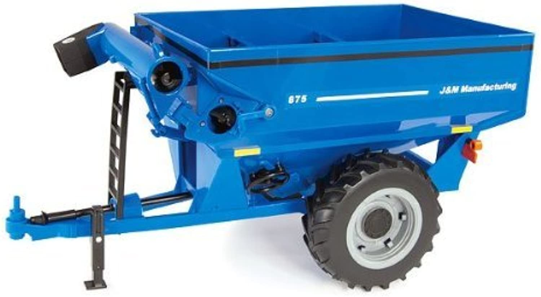 ERT46214 ERTL - J and M Grain Cart by B2B Replicas