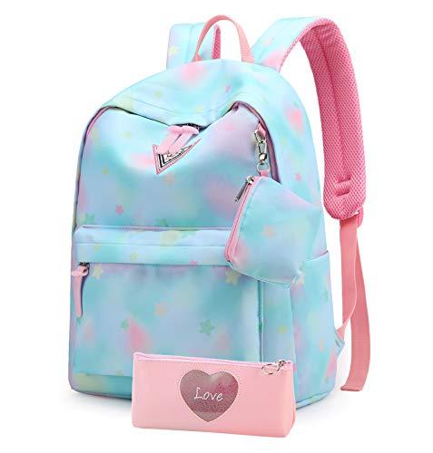 Suerico School Backpack for Girls,Lightweight Durable School Bags...