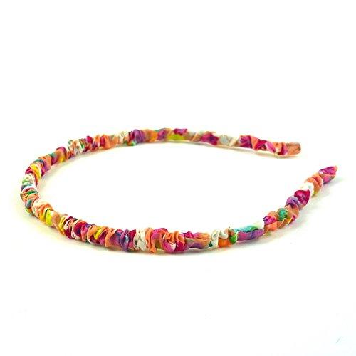 rougecaramel - Accessoires cheveux - Serre tête fin enfant - multicolore