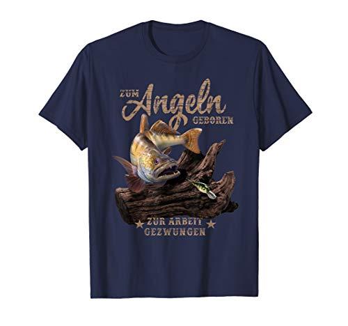 Lustige Geschenkidee für Zander Angler T-Shirt