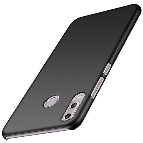 anccer Asus Zenfone 5 ZE620KL Hülle, ZenFone 5Z ZS620KL Hülle, [Serie Matte] Elastische Schockabsorption & Ultra Thin Design (Glattes Schwarzes)