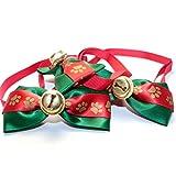 Unbekannt Haustier-Tool für Staubsauger 3 Stück Packung Mode Haustier Weihnachten Haustier Schmuck Krawatte Katze Hund Fliege Spitze Heimtierbedarf