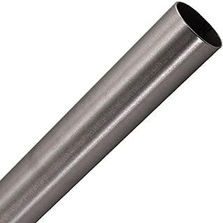 KegWorks 8' Foot Bar Foot Rail Tubing - Brushed Stainless Steel - 2