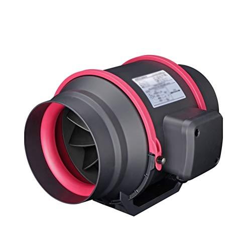 LXZDZ Conducto de escape silencioso ventilador del ventilador del soplador de aire hidropónico for el hogar Baño Vent y hágase habitación Ventilación