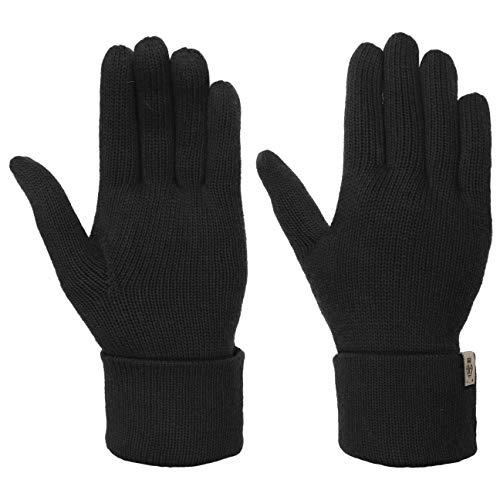 Roeckl Fingerhandschuhe Handschuhe mit Kaschmir Strickhandschuhe (One Size - schwarz)