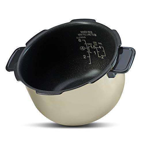 Ersatztopf für Cuckoo Digitaler Induktions-Reiskocher, CRP-HP0654F (1,08L, für bis zu 4 Personen)