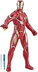13-Inch scale iron Man figure – Imagine Tony Stark gearing up as iron Man to blast into battle alongside fellow Avengers with this 13-inch-scale iron Man figure Marvel movie-inspired design – fans and collectors can imagine the action-packed scenes o...