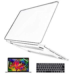 Belk MacBook Pro 13 ケース 2021 2020 モデル: M1 A2338/A2251/A2289 [キーボードカバー+液晶保護フィルム+マックブックプロ 13インチ ハードケース] MacBook Pro ケース 2021 (クリア)