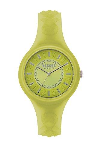 Versus by Versace Reloj Análogo clásico para Mujer de Cuarzo con Correa en Silicona SOQ120017