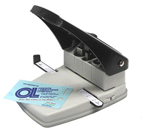 3en 1insignia de identificación ranura Punch, esquina redonda cortador y perforadora herramienta