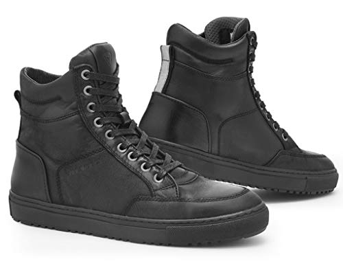REV'IT! GRAND Herren Motorrad Sneaker Leder City - schwarz Größe 46