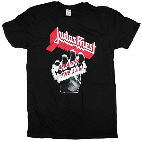 Judas Priest Breaking The Law Camiseta Negro L