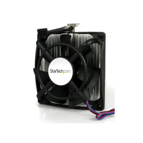 StarTech.com Ventilador Fan Disipador Heatsink 92x25mm para CPU Procesador AMD Socket AM2 939 940 754 - TX3 - Ventilador de PC (Enfriador, Procesador, Socket 754, Socket 939, Athlon, Sempron, 92 x 92 x 25 mm, Negro)