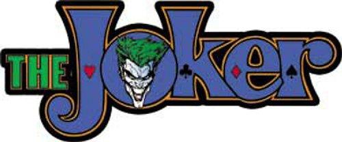 C&D Visionary Licenses Products DC Comics Batman Joker Logo Sticker