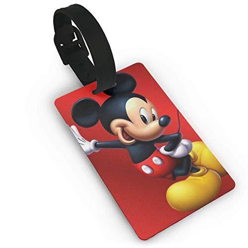 Be Cool Etiquetas de equipaje de Mickey Mouse Maleta de mano Etiqueta de identificación de viaje para equipaje