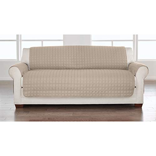 BrylaneHome Ultimate Sofa Protector, Taupe