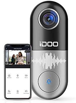 iDOO 2-Way Audio Home Security Front Door Bell
