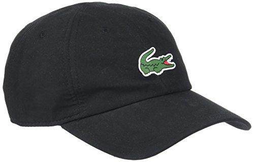 Lacoste Sport RK2464 Gorra de béisbol, Negro (Noir 031), Talla única para Hombre