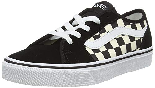 VANS Filmore Decon, Zapatillas Mujer, Checkerboard Black/White 5GX, 37 EU