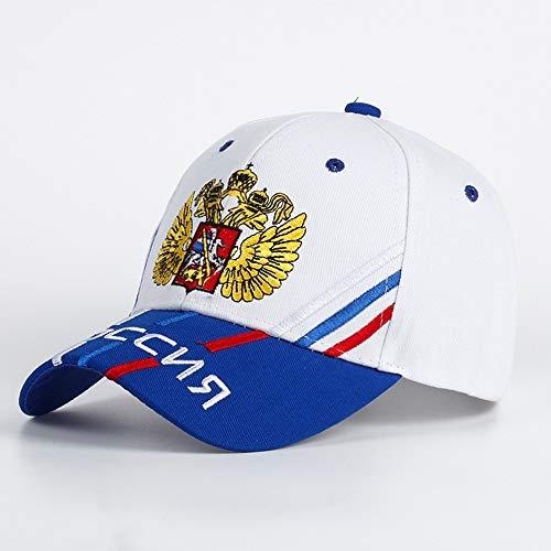 LSJYF Baseball cap Katoen Man Baseball Cap Russische Nationale Vlag Borduurwerk Snapback Mode Hoed Man En Vrouwelijke Patriot Hoed