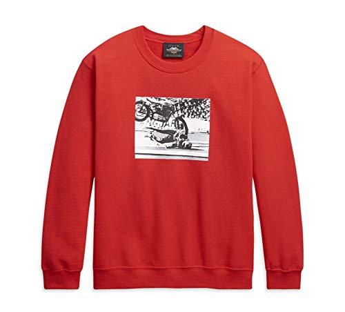 HARLEY-DAVIDSON Herren Sweatshirt Rundhals Sweater Pullover, M