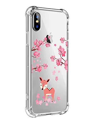 Oihxse Cristal Compatible con iPhone 7/8 4.7' Funda Silicona TPU Suave Ultra-Delgado Protector Estuche Creativa Patrón Protector Anti-Choque Carcasa Cover Bumper-A8