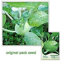 60種子/パック、グリーンコールラビの種子最高の庭の植物野菜の種子