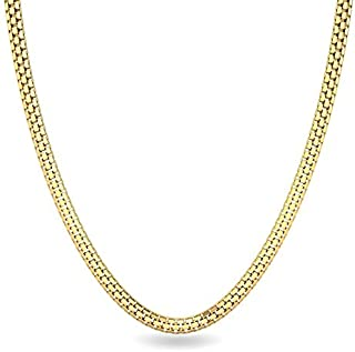 335bd7434 Candere By Kalyan Jewellers Contemporary Collection 22k Yellow Gold Chain  Necklace