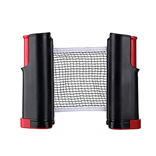 Tragbare Ping Pong Net Tischtennisnetz Retractable Tischtennisnetz Bracket Schellen Für Indoor Outdoor Spielzubehör