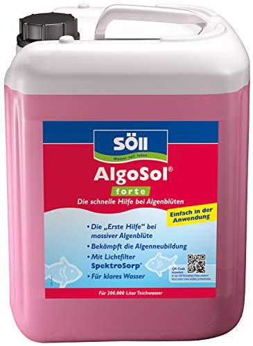 Söll 10492 AlgoSol forte - Die schnelle Hilfe bei Algenblüten - 10 l
